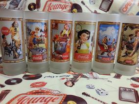 Coca Cola Vaso Colección Memorabilia Lotex6 17,5x6,5 Cm