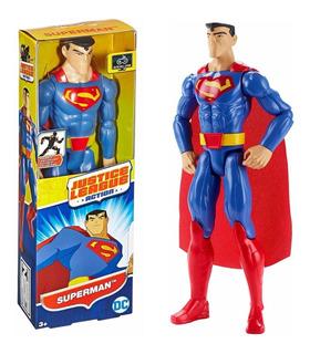 Muñeco Liga Justicia Superman 29cm Orig Mattel Mundo Manias