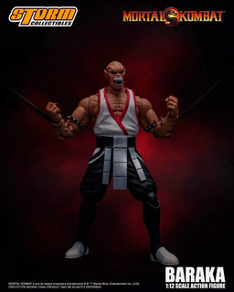 Figura Mortal Kombat Storm Baraka Escala 1:12