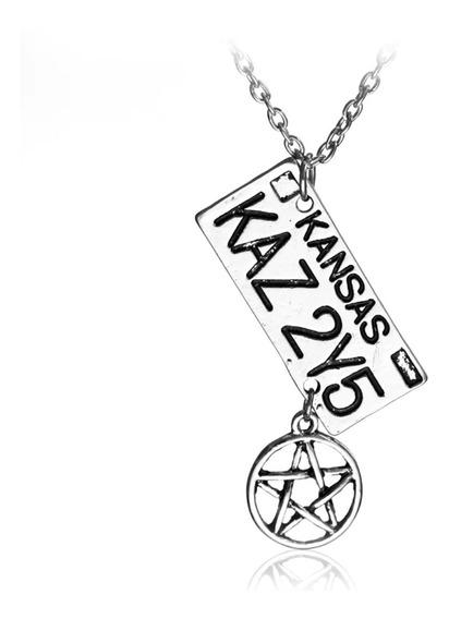 Colar Supernatural Dean Winchester Anjo Castiel Sobrenatural