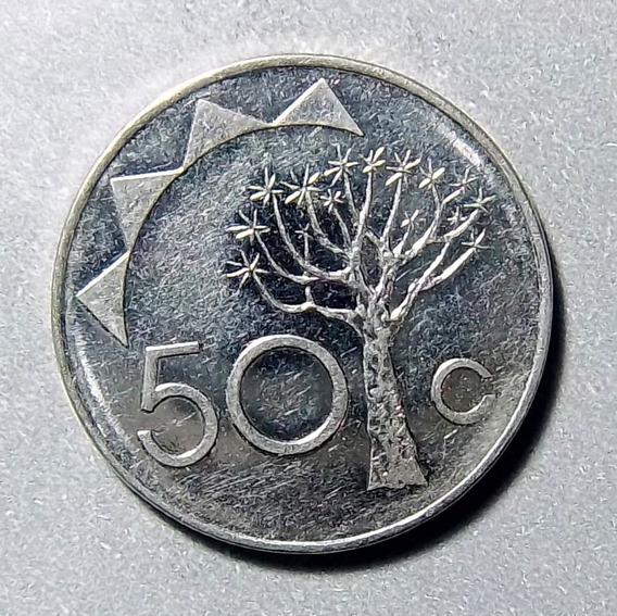 Namibia 50 Cents 1993 Exc Km 3 Escudo Nacional