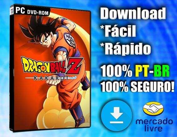 Dragon Ball Z: Kakarot 2020 Lançamento - 100% Pt-br Digital