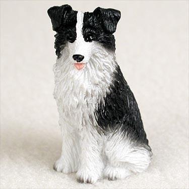 Imagen 1 de 2 de Border Collie Miniature Dog Figurine