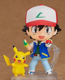 Nendoroid 800 Ash & Pikachu Pokemon Pronta Entrega Fg