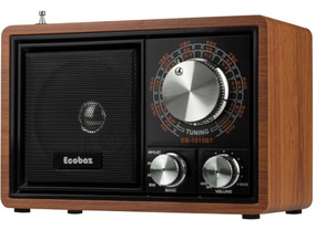 Radio Classico Am Fm Bluetooth Pendrive Usb Sd Vintage Retro