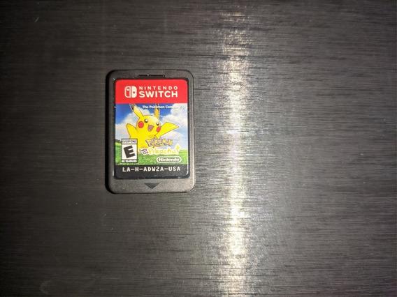 Pokemon Lets Go Pikachu !! Nintendo Switch !! Receba Hoje !!