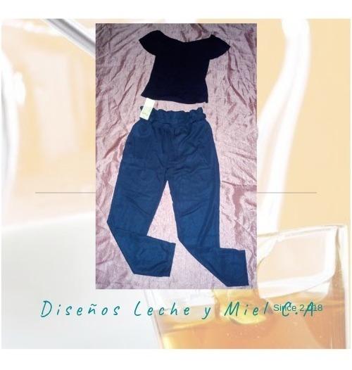 Pantalones De Lazo / Blusas Casuales / Splash