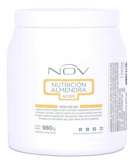 Baño De Crema Nutricion Nov De Almendra Acida X 980 Ml