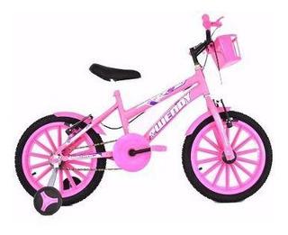 Bicicleta Infantil Aro16 Masc/fem + Brinde Frete Grátis*