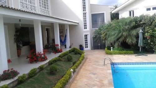 Imagem 1 de 30 de Casa Com 4 Dormitórios À Venda, 480 M² Por R$ 2.100.000,00 - Residencial Seis (alphaville) - Santana De Parnaíba/sp - Ca0069