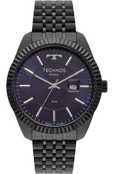 Relógio Technos Riviera Masculino 2115msv/4a Grafite