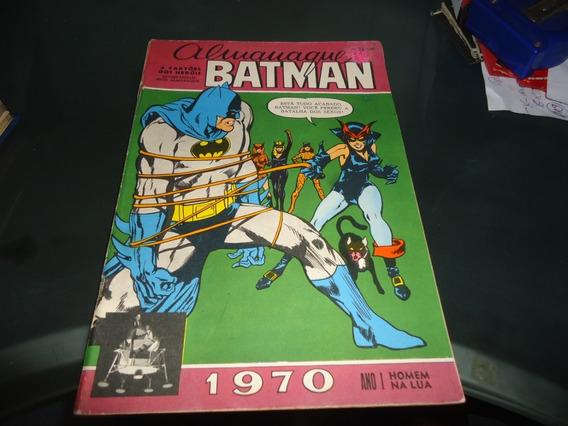 Almanaque Batman 1970 Ebal Excelente Estado Sem Cartões