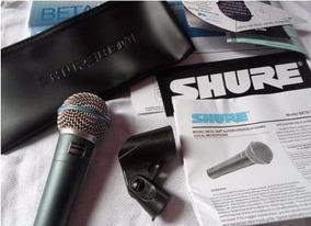 Microfone Shure Beta 58 Loja Credencia