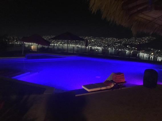 Inigualable Casa En Las Brisas Con La Mejor Vista D Acapulco