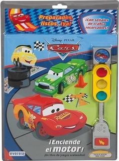 Cars. Â¡enciende El Motor! Libro Con Semã¡foro. Â¡u...