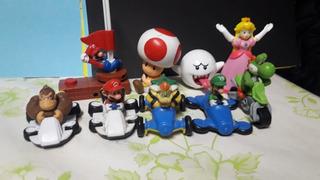 Súper Mario Bros Cars Y Otros Pak De 9 Personajes