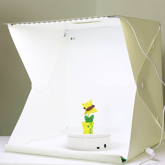 Studio Fotografico Box Still Led 40 Cm Light Produto