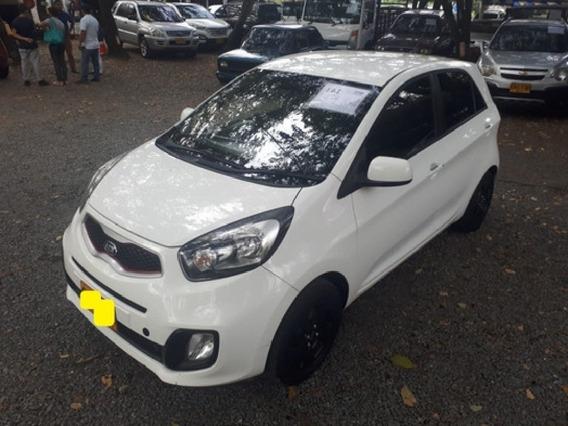Kia Picanto Ion Motor 1.25 2015 Blanco 5 Puertas