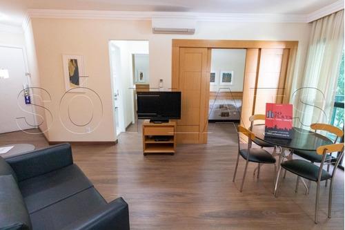 Flat Com Excelente Localização No Paraiso 02 Dorms 60m² - Sf32388