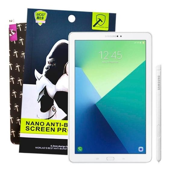 Película Nano Premium Temperado Para Tablet Samsung Galaxy Tab A 10.1 P585 / P580 - Não Estilhaça / 5x Mais Resistente