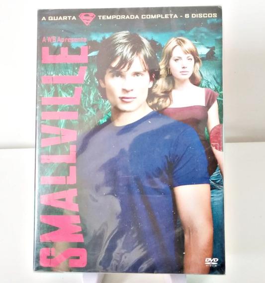 Dvd Smallville 4ª Temporada (lacrado)