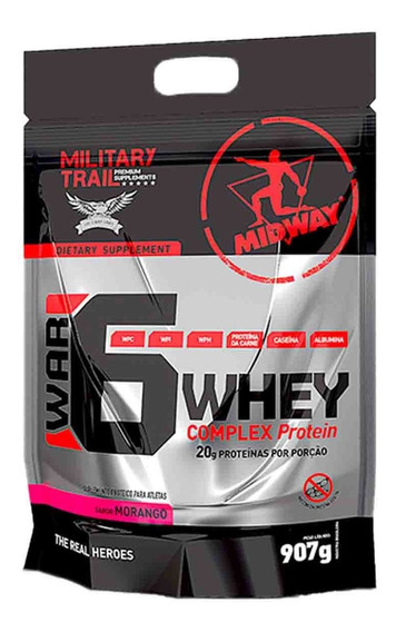 War 6 Complex Protein 900g - Midway - Blend Proteíco
