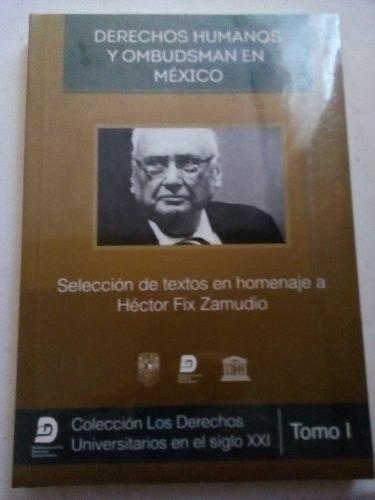 Imagen 1 de 3 de Derechos Humanos Y Ombudsman En Mexico