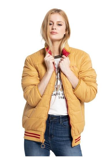Campera Mujer Byron Coat Reversible