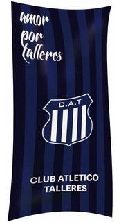 Toallon Talleres Algodon Premium Lic Oficial Toalla Cuotas