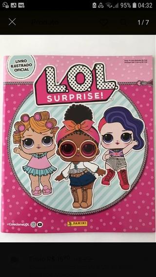 Álbum Lol Surprise 1 Completo Com Todas As 200 Figurinhas