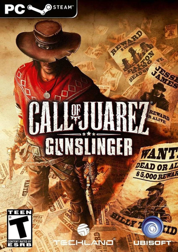 Call Of Juarez Gunslinger Pc Original + Español Cdkey Steam