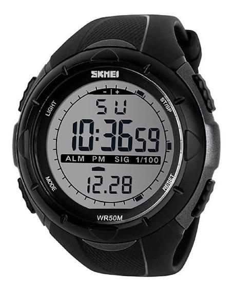 Relógio Masculino Skmei 1025 Sshock Esportivo Digital Pto Cz