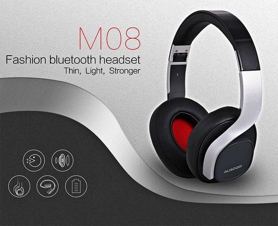 Fone De Ouvido Ausdom M08 Bluetooth 4.0 Stereo Headset Novo!