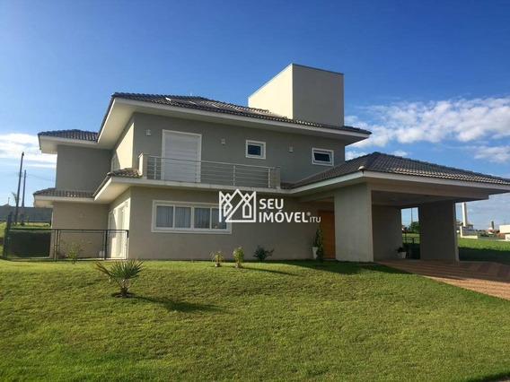 Casa Com 4 Dormitórios À Venda, 450 M² Por R$ 1.100.000,00 - Condomínio Palmeiras Imperiais - Salto/sp - Ca1085