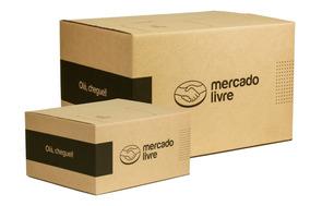 100 Caixas De Papelão Mercado Envios - Kit (p/m)