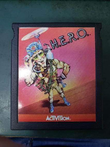 Cartucho Atari Hero Raridade