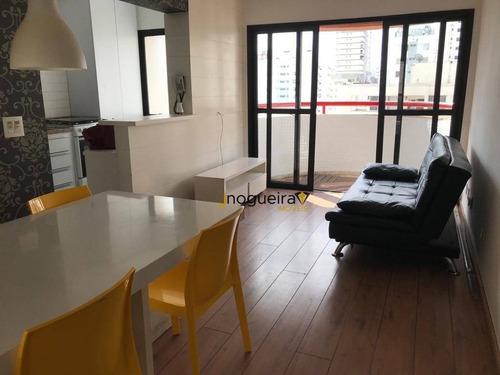 Imagem 1 de 30 de Apartamento Com 1 Dormitório À Venda, 52 M² Por R$ 520.000,00 - Brooklin Novo - São Paulo/sp - Ap15481