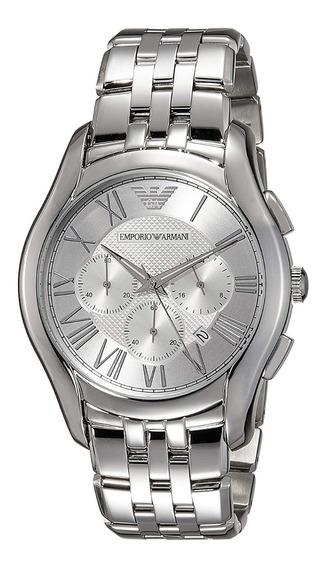 Relógio Emporio Armani Ar1702 Dress Silver
