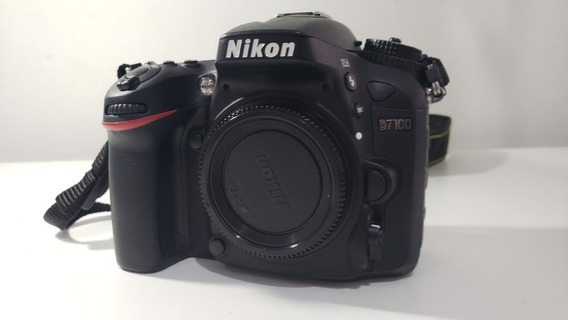 Câmera Nikon D7100 24.1mpixels - Corpo - Só 3.393 Cliques!!