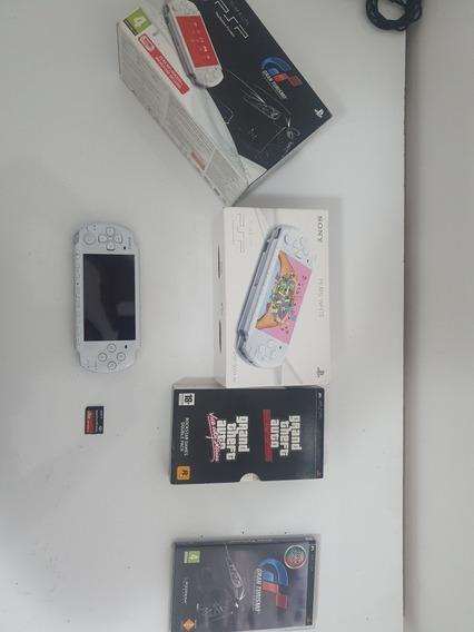 Sony Psp 3000 Branco Edição Limitada Gran Turismo