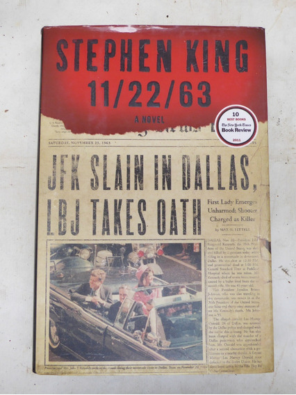 Livro Stephen King 11/22/63 A Novel - Em Inglês