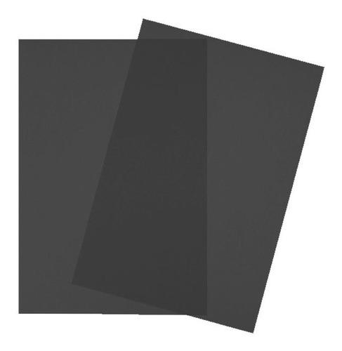 Tapa Encuadernar A4 Negro X50