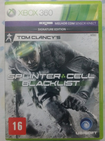 Splinter Cell Blacklist X-box 360 Original