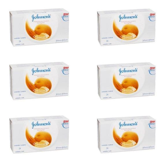 Johnsons Absorvente P/ Seios C/24 (kit C/06)