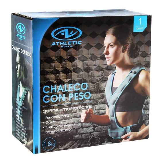 Chaleco Con Peso Unisex 1.8kg Crossfit Box Gym Ajustable