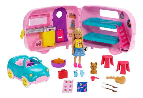 Barbie Family Cámper De Chelsea Muñeca Para Niñas