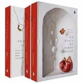 Box Em Busca Do Tempo Perdido Proust 3 Volumes Frete Grátis