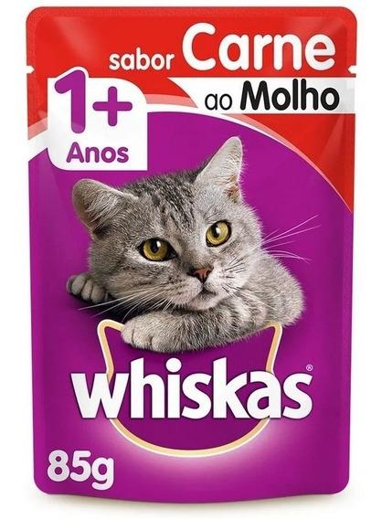 Whiskas Sachê Caixa Com 36 Unidades De 85g - Escolha O Sabor