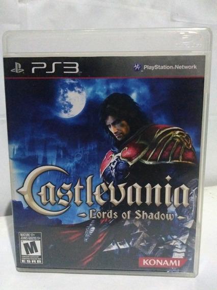 Jogo Castlevania Lords Of Shadow Ps3 Mídia Fisica R$79,90