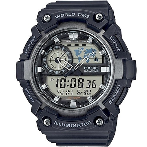 Relógio Casio Original Aeq-200w-1avdf